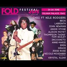 Fold Festival this weekend BOGOF from Ticketline - General Admission £27 (plus booking fee)