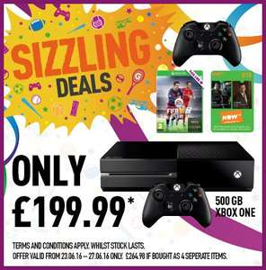 Xbox One Console With Fifa 16, Extra Controller (New Model), 3 Months Now TV & 1 Month EA Access £199.99 Delivered @ GAME