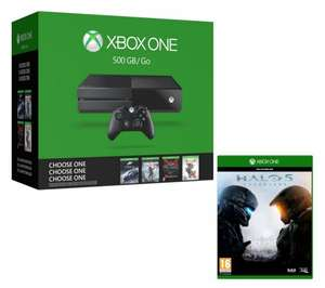 Xbox One 500GB + Halo 5 or Tomb Raider + 1 Name Your Game - £199.99 at Currys