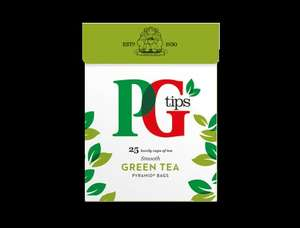 Free PG Tips Green Tea Sample (FB)