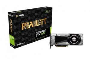 Palit GeForce GTX 1070 8GB Founders Edition (Open Box) - £389 @ CCL