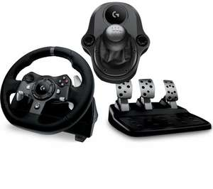 LOGITECH Driving Force G920 Wheel & Gearstick Bundle £179.99 Currys