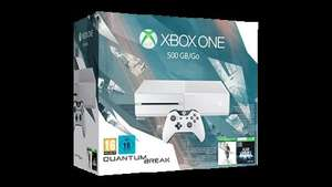 Microsoft Xbox One 500GB in white + Quantum Break + Alan Wake for £220 + £114 voucher for next purchase for £229.10 incl. delivery @ MS Store France (other bundles available too - see description to get 2 Xbox bundles + voucher for ~£330)