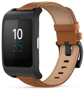 Sony Mobile SWR50 SmartWatch 3 - Brown Leather £99.95 @ Amazon