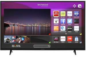 "Techwood 55"" Smart LED TV 1080p Full HD Freeview, Free Delivery £299 @ eBay/ao"