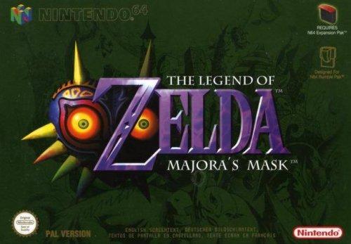 The Legend of Zelda Majora's Mask N64 [Wii U Virtual Console] £8.99 @ Nintendo eShop