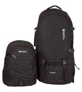 Mountain Warehouse Traveller 60 + 20 Litre Rucksack £59.99 (Free shipping) @ Mountain Warehouse (ONLINE)