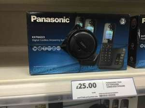 Panasonic KX-TGH223 digital cordless phone 3 pack £25 @ Tesco - Birmingham