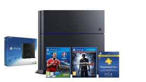 PS4 Console 1TB + Uncharted 4: A Thief's End Launch Edition + PES 2016 UEFA EURO + 3 Months Playstation Plus Membership - £279.99 @ ShopTo on eBay