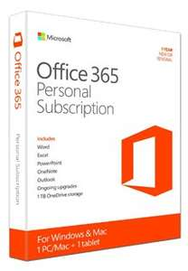 Microsoft Office 365 1 Year £36.99 @ Electronic First