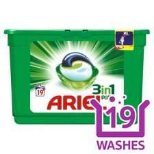 Ariel 3 in1 at Tesco online reduced from £7 to £4 and 25% off for 4 products
