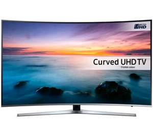"""SAMSUNG UE49KU6670 Smart 4k Ultra HD HDR 49"""" Curved TV with 5 year guarantee £749 @ Currys and up to £100 cash reward"""