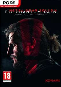 Metal Gear Solid V 5: The Phantom Pain PC ( £12..26 ish with fb 5% code ) @ cdkeys