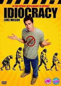 For those who want to see the future ... Idiocracy just £4.08 (Prime) £6.07 (Non Prime) @ Amazon