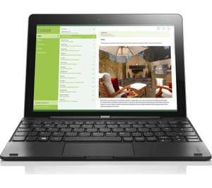 "Open Box Lenovo Miix 300 10.1"" Tablet/Laptop Windows 10, Intel Atom Quad Core, 32GB eMMC at TABRETAIL EBAY - £99.99"