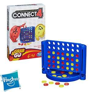 Hasbro Grab & Go: Connect 4 was £4.99 now £3.49 @ Home Bargains