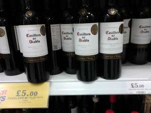 Casillero del Diablo 75cl wines £5 at Home Bargains (Merlot, Cabernet Sauvignon & Sauvignon Blanc)