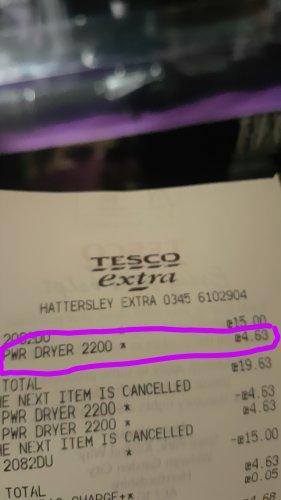 TREsemme Hairdryer £4.63 @ Tesco