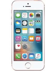 iphone se 16gb £14.99 a month, no upfront cost 24 months Total £359.76 @ Mobiles.co.uk