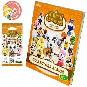 Amiibo Animal Crossing Cards + Album (Wave 2) £5.25 @ Ebay (Select_Games)