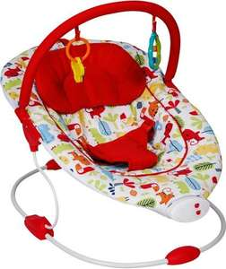 Red Kite Snuggi Bounce vibrating bouncer chair from birth £7.50 in store Tesco