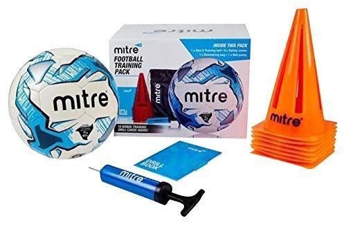 Mitre Ultimate Football Training Pack - White, £10.66 prime / £15.41 non prime  @ amazon