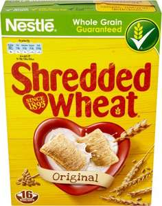 Nestle Shredded Wheat 16 pack was £2.15 now £1.50 @ One Stop