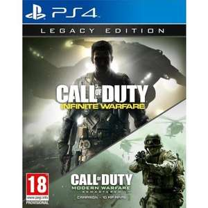 Call of Duty Infinite Warfare Legacy Edition PS4/XB1 preorder (includes Modern Warfare 1 remaster) for £61.16 from thegamecollection using E3HANGOVER code (+680 pts)