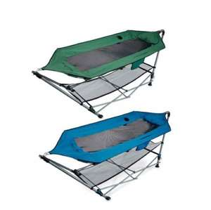 portable hammock from Aldi £39.99