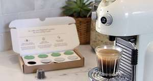 Free Nespresso Coffee Pods Taster Box from CRU Kafe.