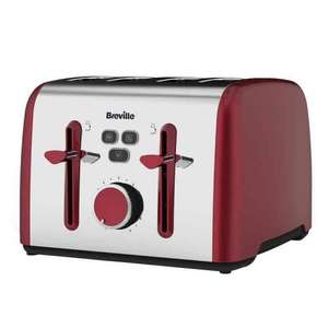 Breville Colour Notes 4 Slice Toaster VTT628 Reduced to £19.50 @ Tesco