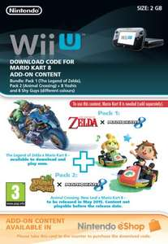 Mario Kart 8: Complete DLC Pack (Wii U) - £9.25 @ ShopTo
