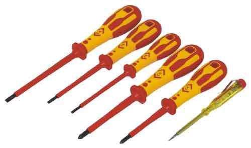 6pc CK VDE screwdriver set B&Q/Amazon - £15