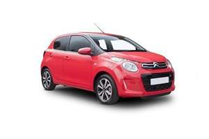 Citroen C1 Hatchback 1.2 PureTech Feel 5dr 3+17 personal contract hire, £78.78 pm, £596.34 up front, 10k p/a = £1935.60 TFS vechile leasing