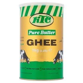 KTC Pure Butter Ghee 1kg £4 / 2kg £7@ ASDA