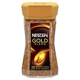 Nescafe Gold Blend Instant Coffee 200g only £4 @ ASDA