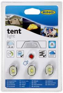 Amazing price - Ring Automotive 3 LED Tent Lights £9.99 at Aldi