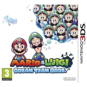 Mario and Luigi: Dream Team Bros. 3DS £11.22 [ £13.21 Non-Prime] @ Amazon