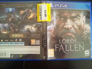 Lords of the Fallen PS4 £4.99 @ Cash converters - Barnsley