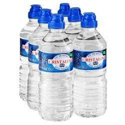 Cristaline Spring Water Still with Sports Cap (6 x 500ml) ONLY £1.00 @ Poundland (INSTORE ONLY)