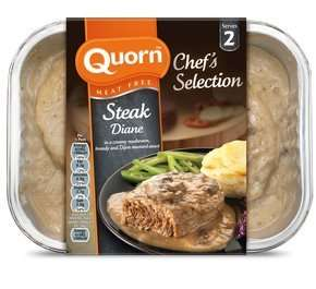 Quorn Chef's Selection Meat Free Steak Diane 400g was £3.79 now £1.50 @ Asda