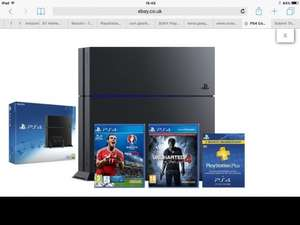 PS4 Console 1TB + Uncharted 4: A Thief's End Launch Edition + PES 2016 UEFA EURO £279.99 @ ShopTo/Ebay