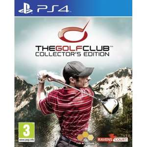 The Golf Club Collector's Edition PS4 Game ONLY £11.99 @ 365 Games.co.uk