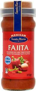 Santa Maria Hot Chilli Con Carne Season & Sauce (377g) was £2.14 now 2 for £2.50 @ Morrisons