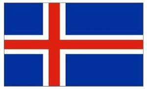 Iceland flag! Cheer them on in the Euro's £2.48 @ SDS11  / Amazon
