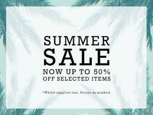 Converse summer sale up to 50% off