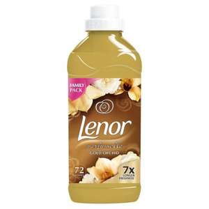 Lenor Gold Orchid / Ocean Escape Fabric Conditioner 72 Washes 1.8L / Bold 2in1 Lotus Flower & Lily Washing Liquid 24 washes 1.2L - Offer price £2.75, was £6 @ Morrisons