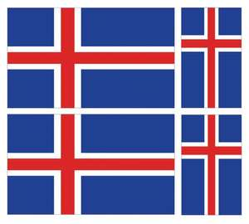 Buy 2 Get 1 FREE ICELAND STICKERS £3.58 @ stickershop_103 / ebay