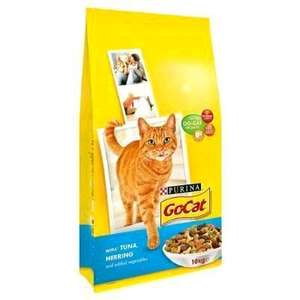 Go-Cat Dry Cat Food Adult Tuna, Herring and Vegetable 10kg £13.12 ( £14 non-prime) @ Amazon