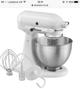 KitchenAid K45SS Classic Stand Mixer - White £159 @ Amazon BARGAIN